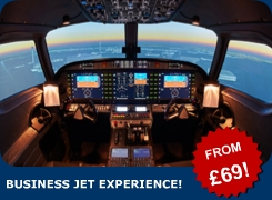 Why not experience the thrill of flying a fast, modern business jet? Our expert simulator instructors will teach you how to handle a fast jet aircraft!