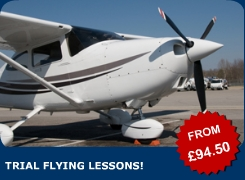 Why not take control of the aeroplane yourself? Take a trial lesson in our Cessna 152!